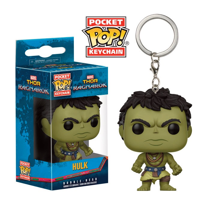 Porte-clés Thor Ragnarok Pocket POP! Casual Hulk 4cm 1001 Figurines
