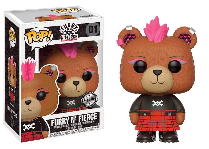 Figurine Build A Bear Funko POP! Furry N' Fierce 9cm 1001 Figurines