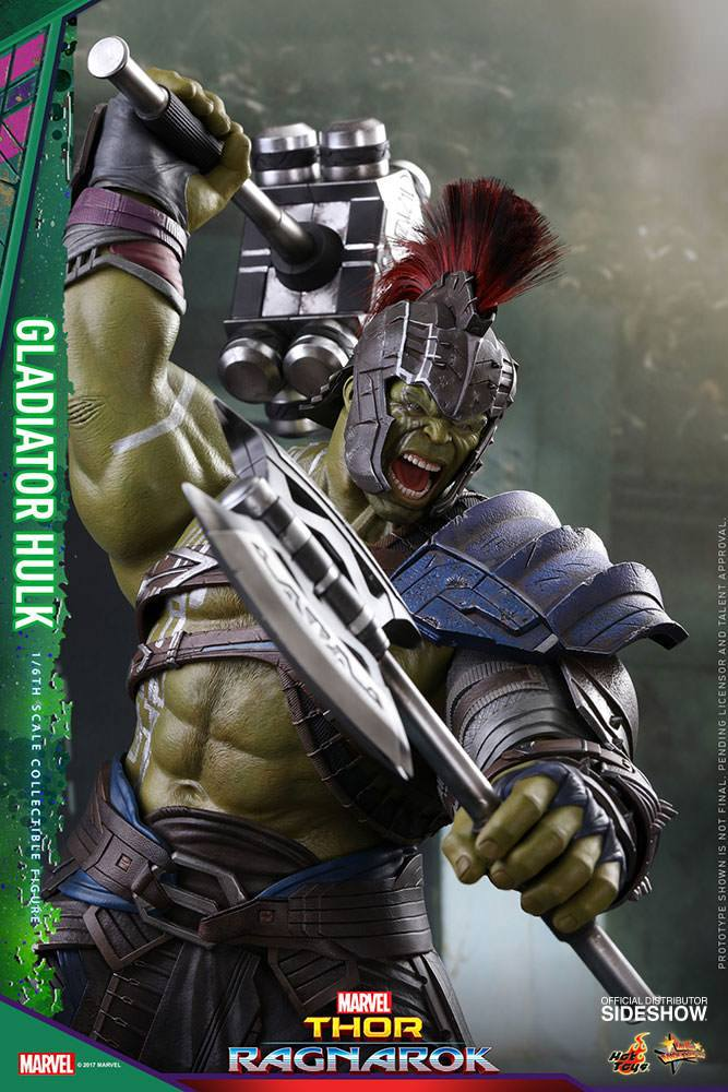 Figurine Thor Ragnarok Movie Masterpiece Gladiator Hulk 42cm 1001 Figurines