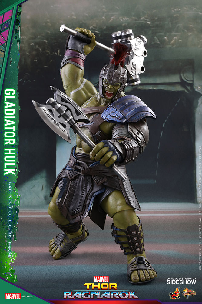 Figurine Thor Ragnarok Movie Masterpiece Gladiator Hulk 42cm 1001 Figurines 1
