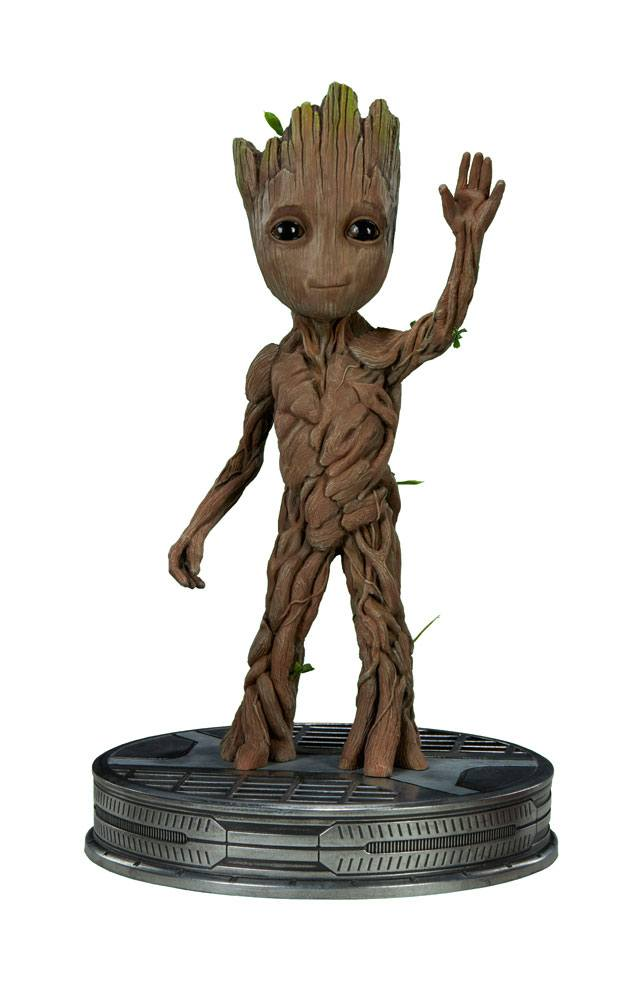 statuette guardians of the galaxy vol 2 baby groot 28cm figurines comics les gardiens de la. Black Bedroom Furniture Sets. Home Design Ideas
