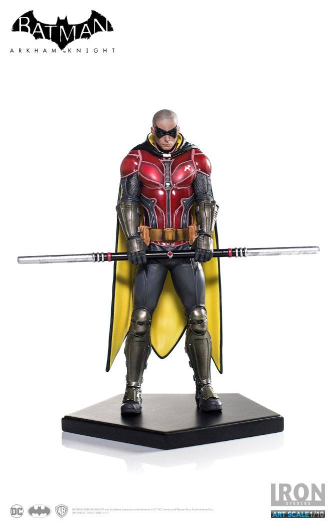 Statuette Batman Arkham Knight Art Scale Robin 20cm  1001 Figurines