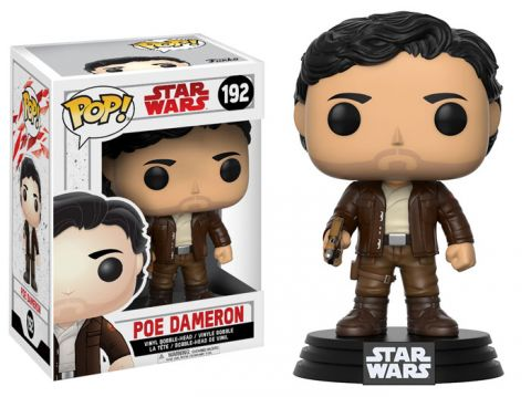 Figurine Star Wars Episode VIII Funko POP! Bobble Head Poe Dameron 9cm 1001 Figurines