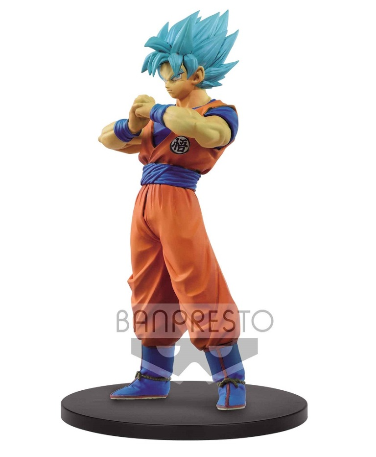 figurine dragon ball super warriors ssj blue goku 18cm figurines manga dragon ball z 1001. Black Bedroom Furniture Sets. Home Design Ideas