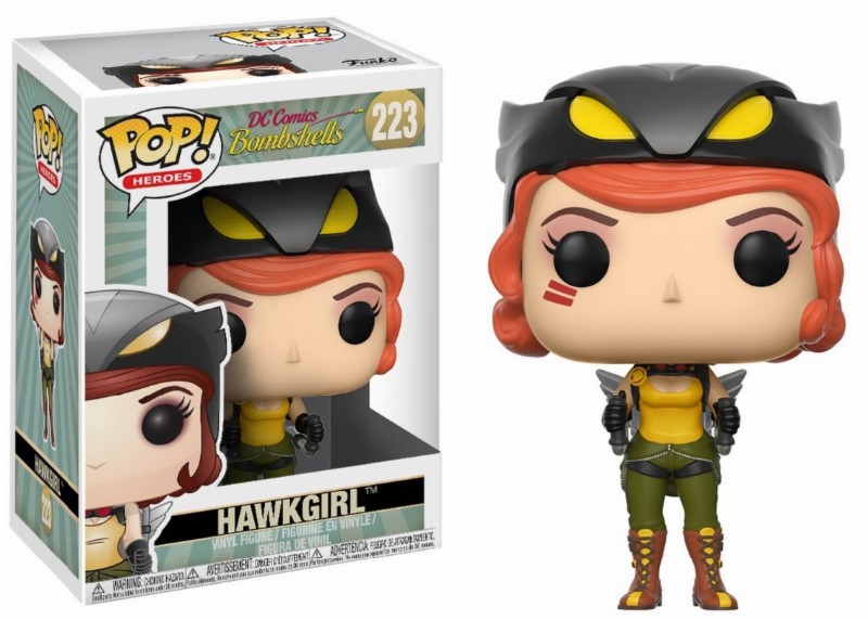 Figurine DC Comics Bombshells Funko POP! Hawkgirl 9cm 1001 Figurines