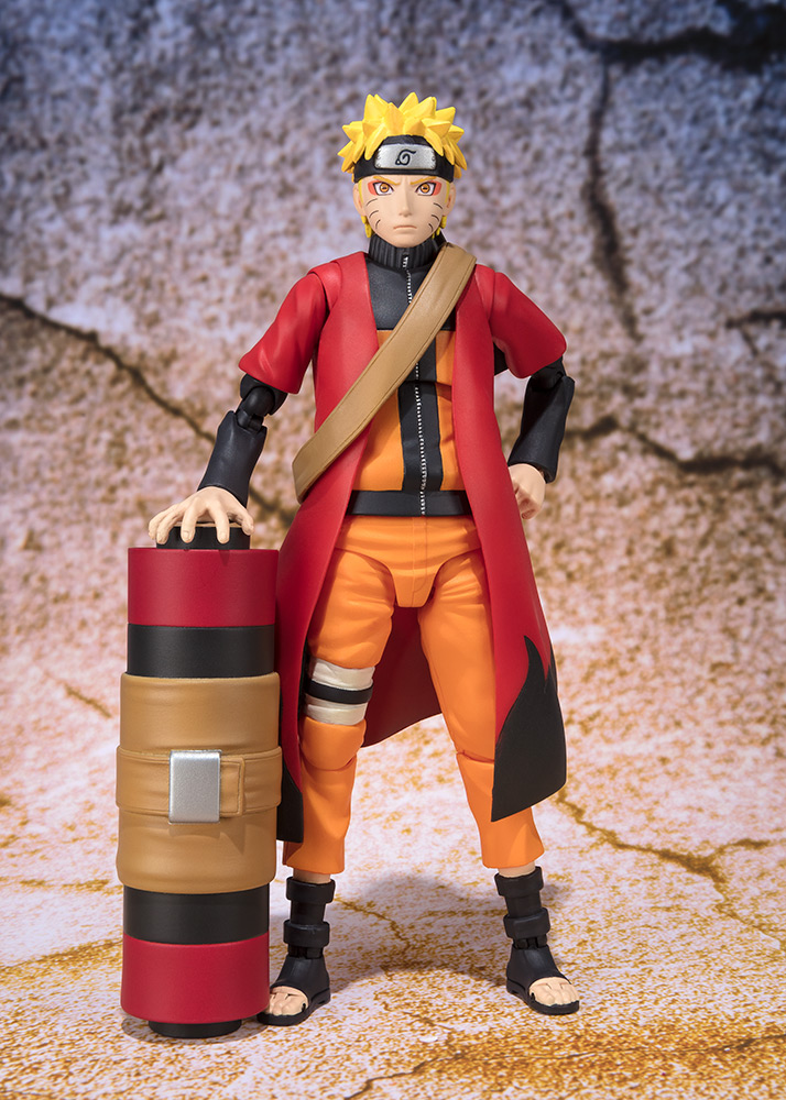 Figurine Naruto S.H. Figuarts Naruto Uzumaki Sage Mode Advanced Ver. 14cm 1001 Figurines 1