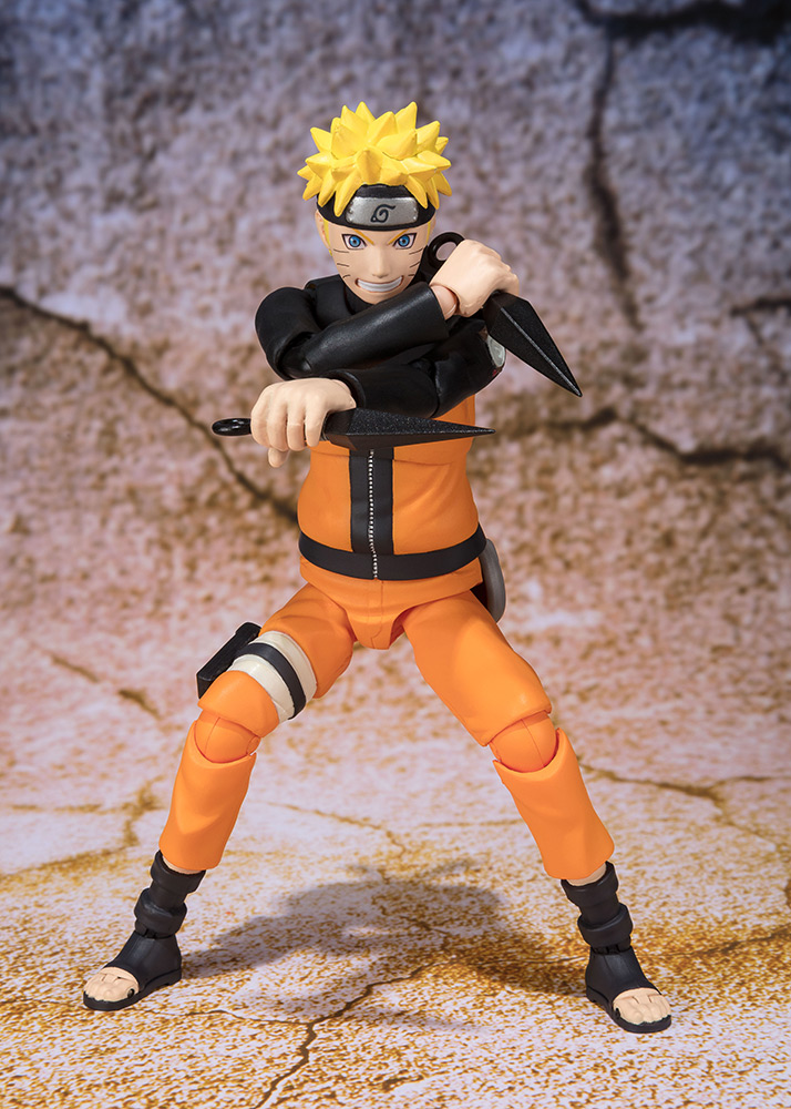 Figurine Naruto S.H. Figuarts Naruto Uzumaki Sage Mode Advanced Ver. 14cm 1001 Figurines 2