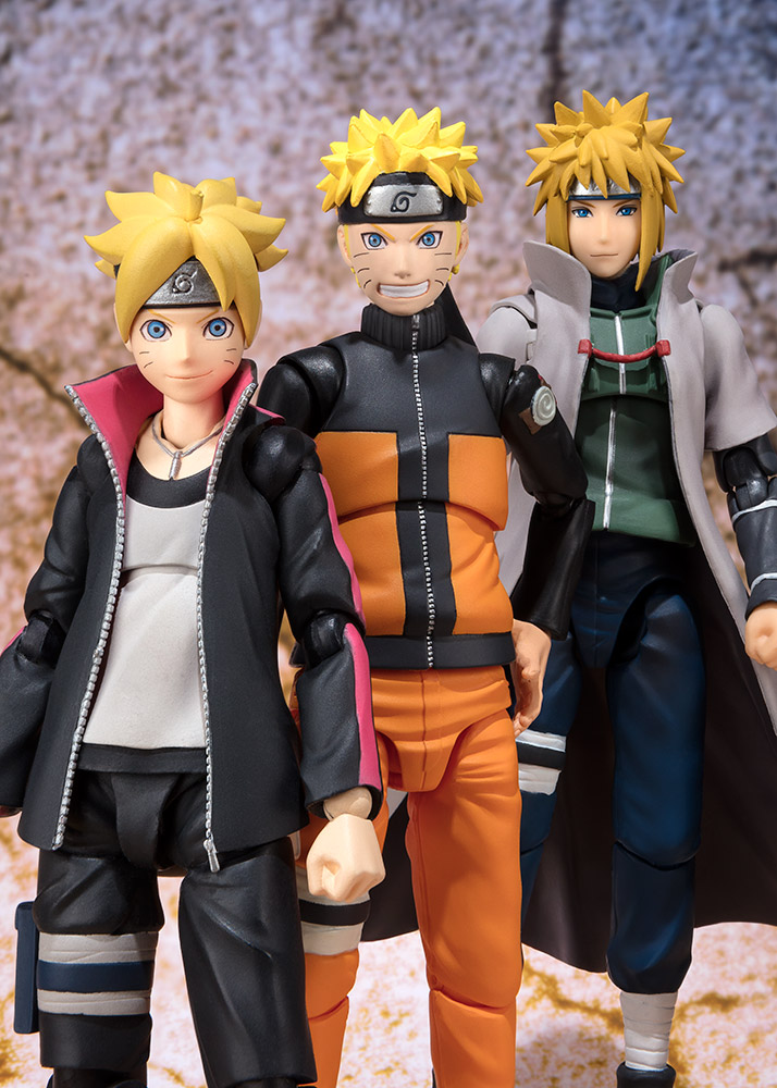 Figurine Naruto S.H. Figuarts Naruto Uzumaki Sage Mode Advanced Ver. 14cm 1001 Figurines 5