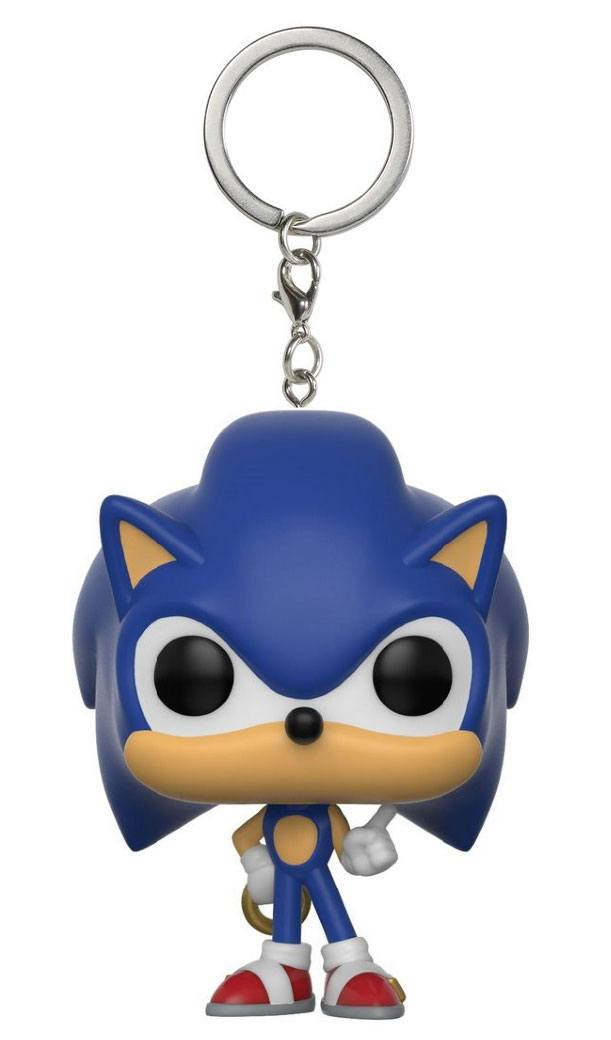 Porte-clés Sonic The Hedgehog Pocket POP! Sonic Ring 4cm 1001 Figurines