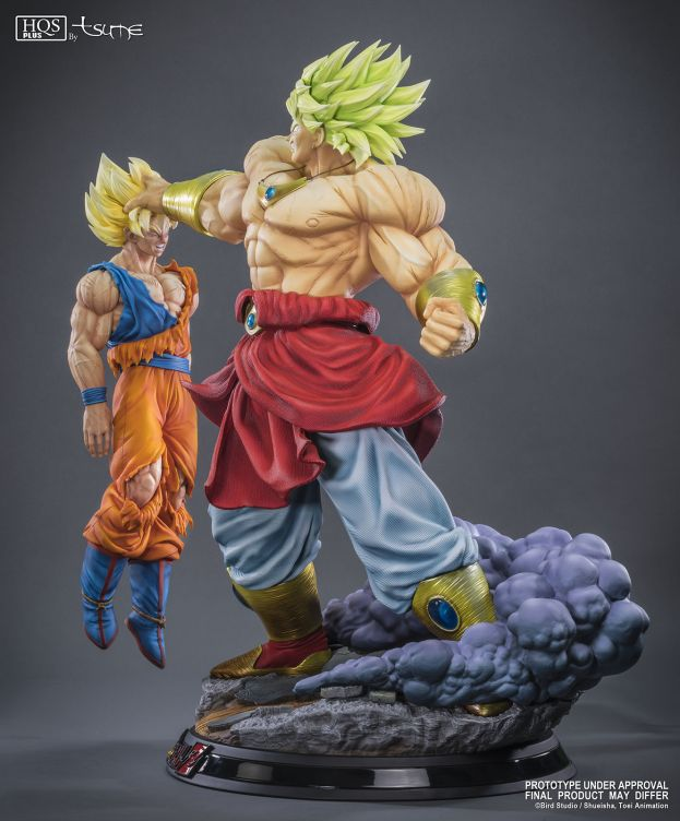 Statue Broly Le super Saiyan Légendaire HQS+ by TSUME 76cm 1001 Figurines 6