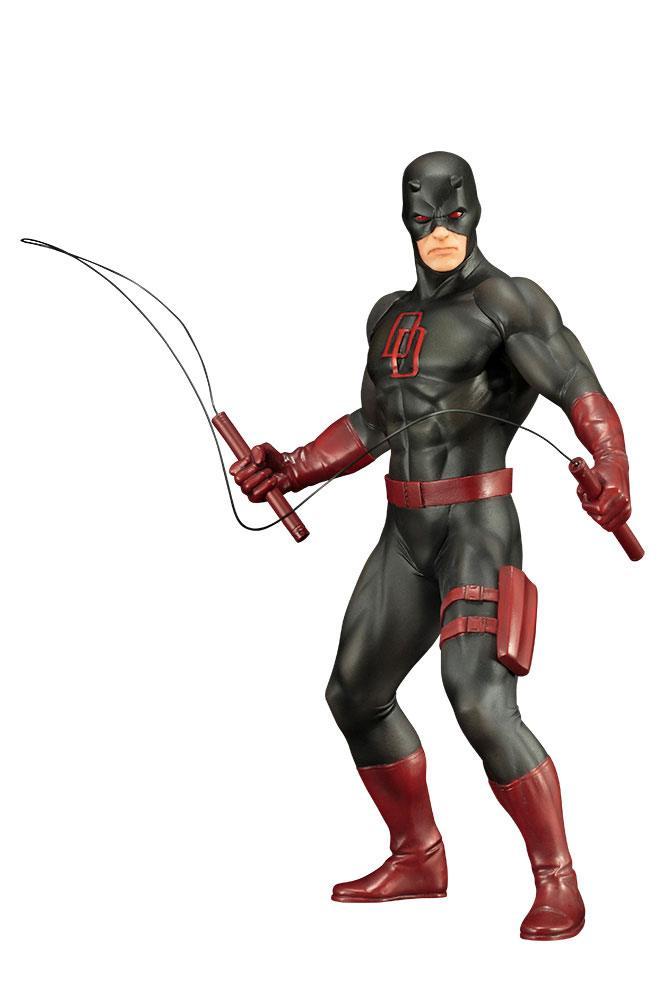Statuette Marvel's The Defenders ARTFX+ Daredevil Black Suit 19cm 1001 Figurines