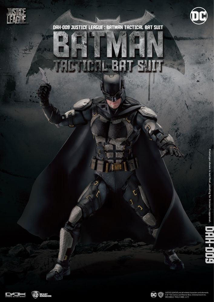 Figurine Justice League Dynamic 8ction Heroes Batman Tactical Bat Suit 20cm 1001 Figurines