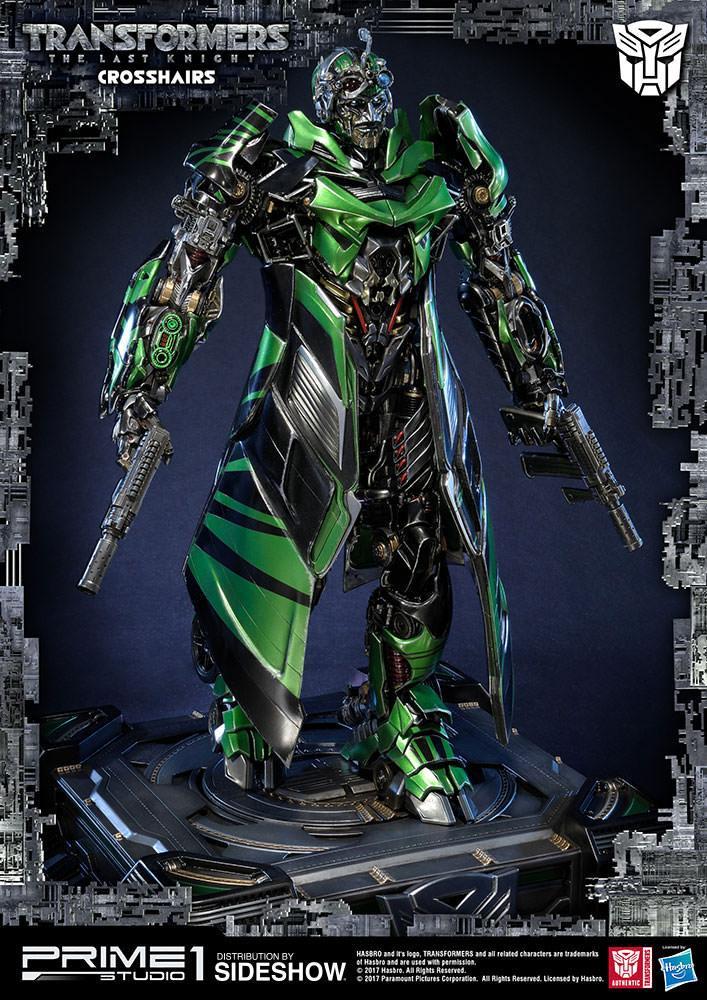 Statue Transformers The Last Knight Crosshairs 52cm 1001 Figurines