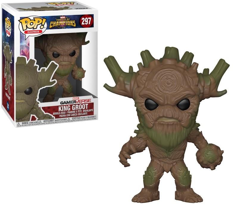 Figurine Marvel Tournoi des champions Funko POP! King Groot 9cm 1001 Figurines