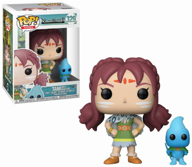 Figurine Ni no Kuni II Revenant Kingdom Funko POP! Tani & Higgledy 9cm 1001 Figurines
