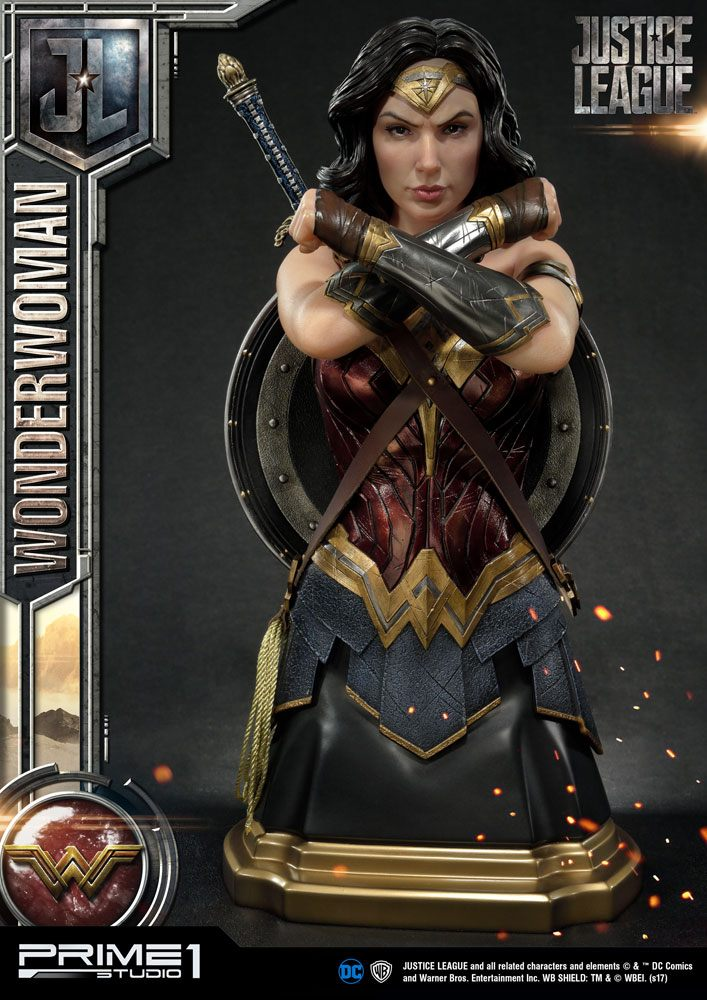 Buste Justice League Wonder Woman 44cm 1001 Figurines