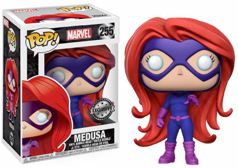 Figurine Inhumains Funko POP! Marvel Bobble Head Medusa 9cm 1001 Figurines