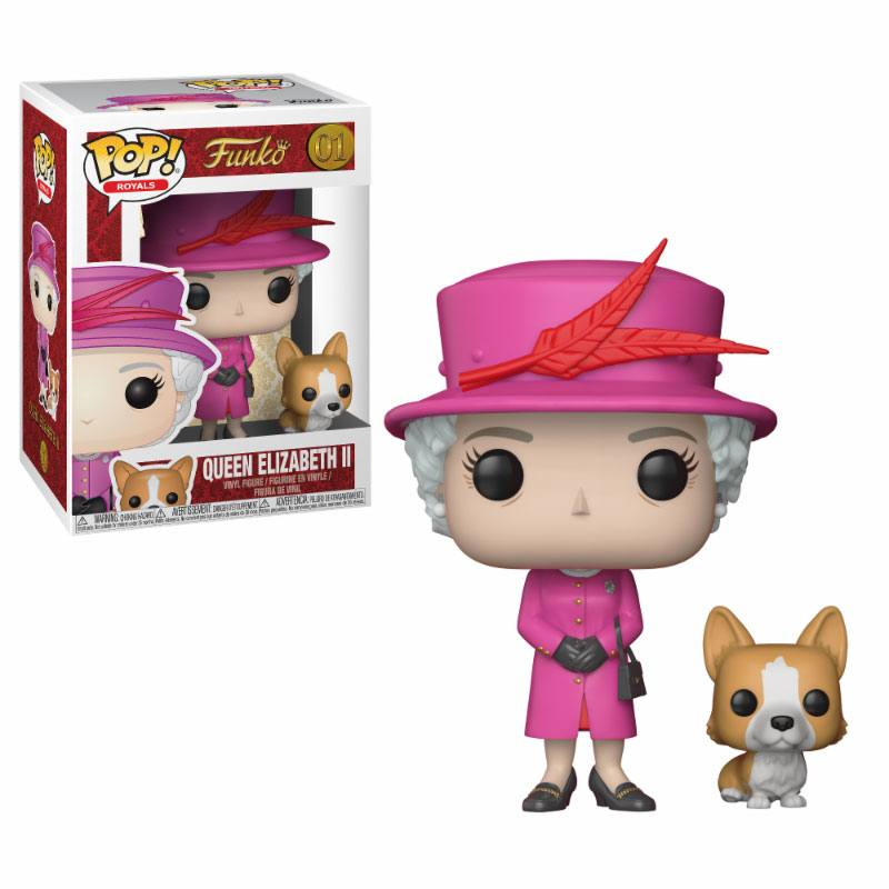 Figurine Royal Family Funko POP! Queen Elizabeth II 9cm 1001 Figurines