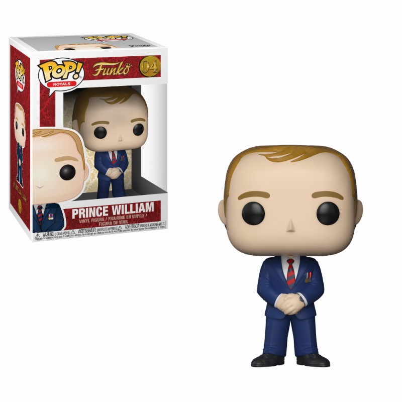 Figurine Royal Family Funko POP! Prince William 9cm 1001 Figurines