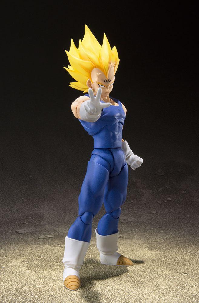 Figurine Dragon Ball Z S.H. Figuarts Majin Vegeta 16cm 1001 Figurines