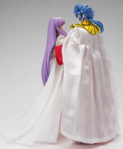 Set Saint Seiya Myth Cloth Athena et Abel 16cm 1001 Figurines 2