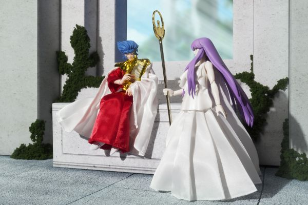 Set Saint Seiya Myth Cloth Athena et Abel 16cm 1001 Figurines