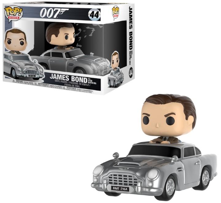 Véhicule James Bond Funko POP! Sean Connery & Aston Martin 15cm 1001 Figurines