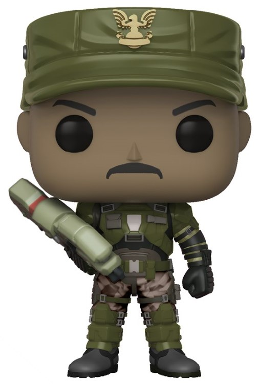 Figurine Halo Funko POP! Sgt. Johnson 9cm 1001 Figurines