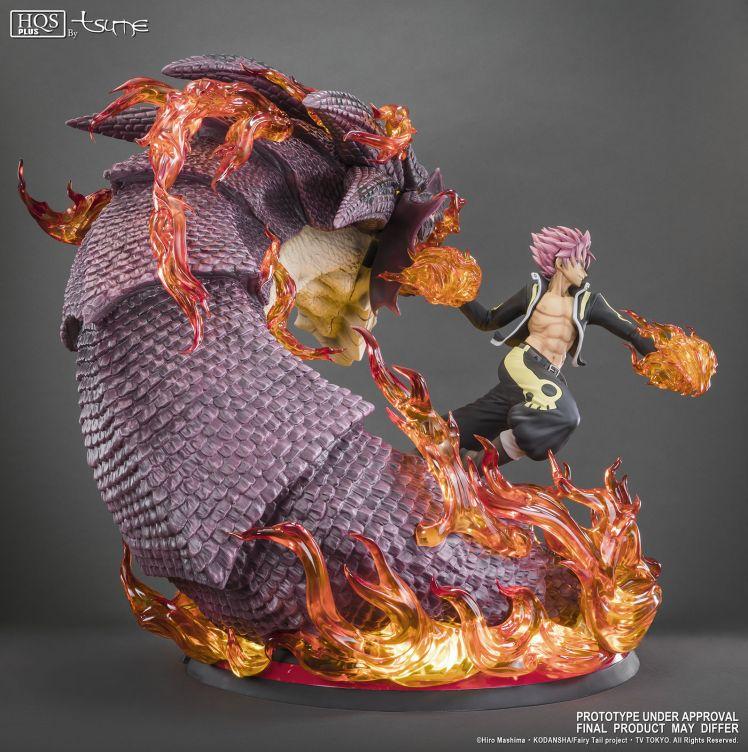 natsu figurine dragon
