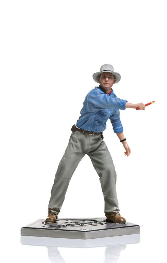 Statuette Jurassic Park Art Scale Alan Grant 19cm 1001 Figurines