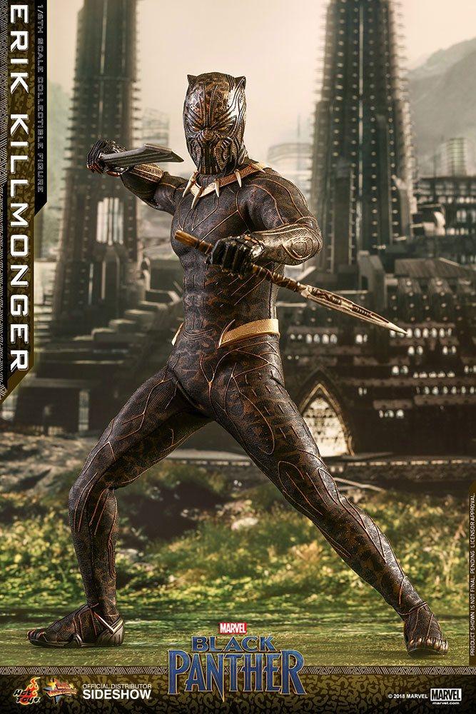 Figurine Black Panther Movie Masterpiece Erik Killmonger 31cm 1001 Figurines