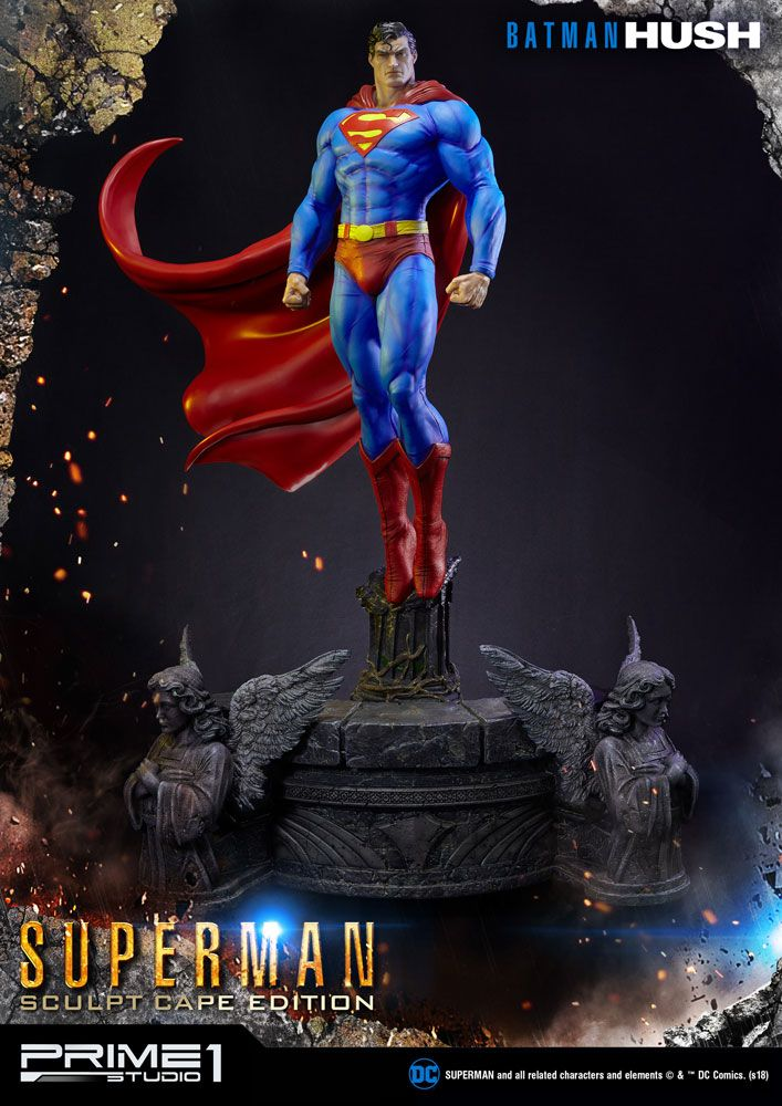 Statue Batman Hush Superman Sculpt Cape Edition 106cm 1001 Figurines