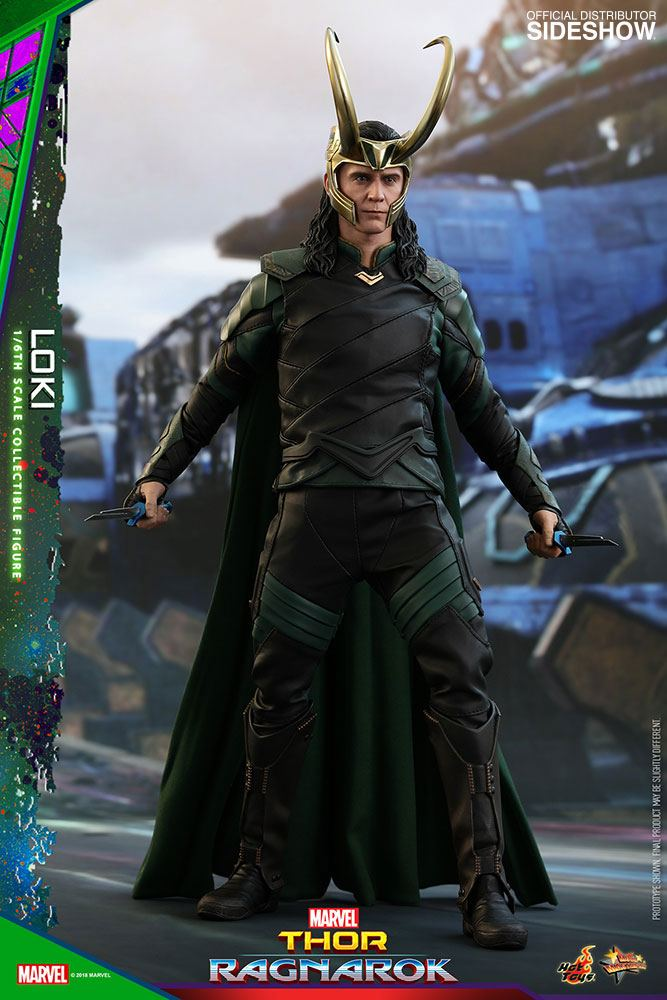 Thor Ragnarok figurine Movie Masterpiece 16 Loki 31 cm 1001 Figurines