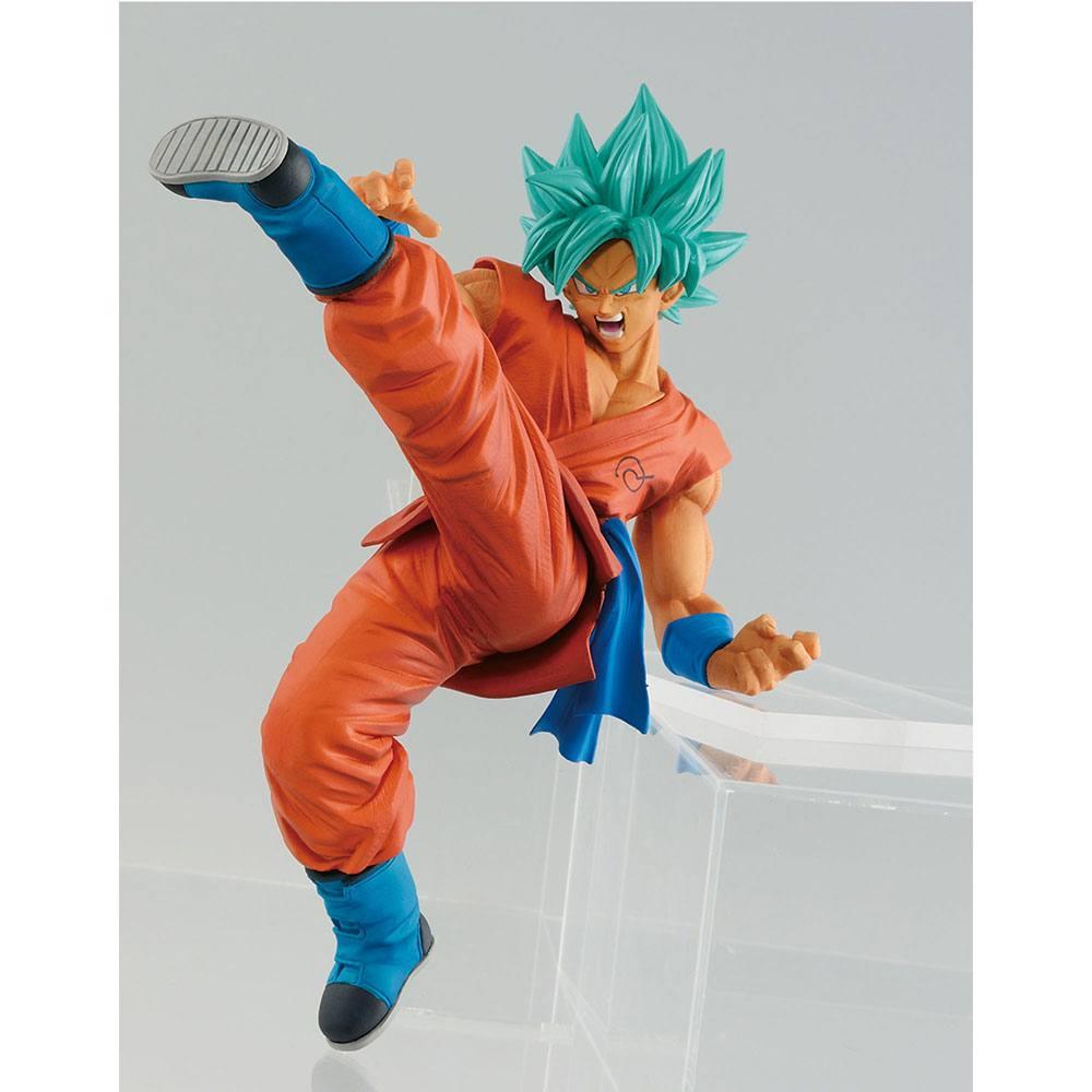 Figurine Dragon Ball Super Son Goku Fes Super Saiyan God Super Saiyan Son Goku 19cm 1001 Figurines
