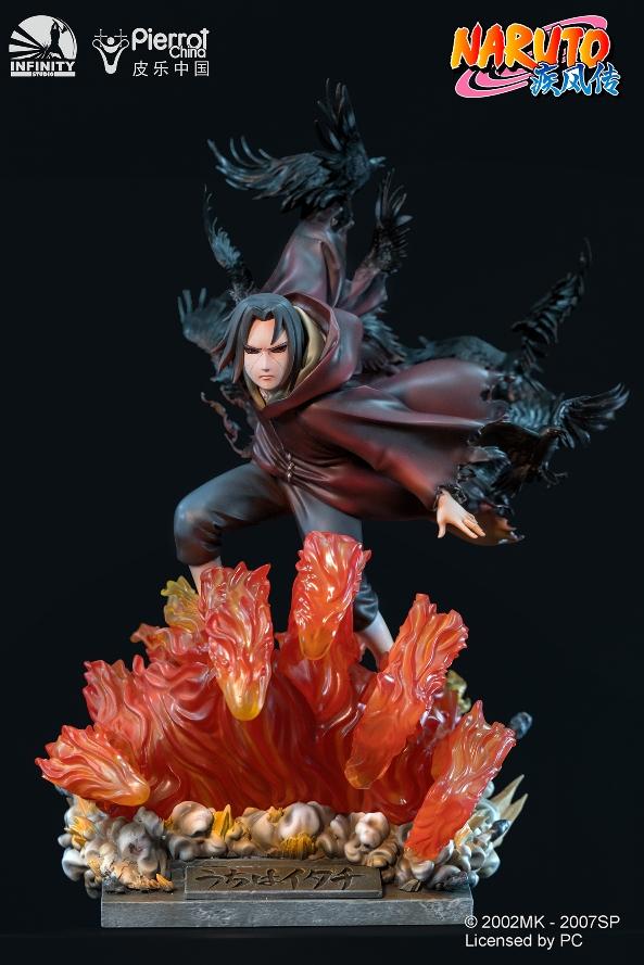 Statue Naruto Shippuden Uchiwa Itachi 45cm 1001 Figurines 2