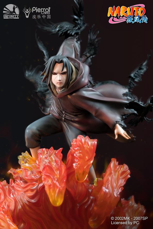 Statue Naruto Shippuden Uchiwa Itachi 45cm 1001 Figurines 5