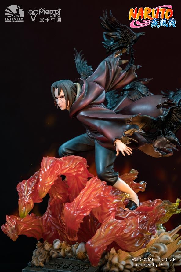 Statue Naruto Shippuden Uchiwa Itachi 45cm 1001 Figurines 6