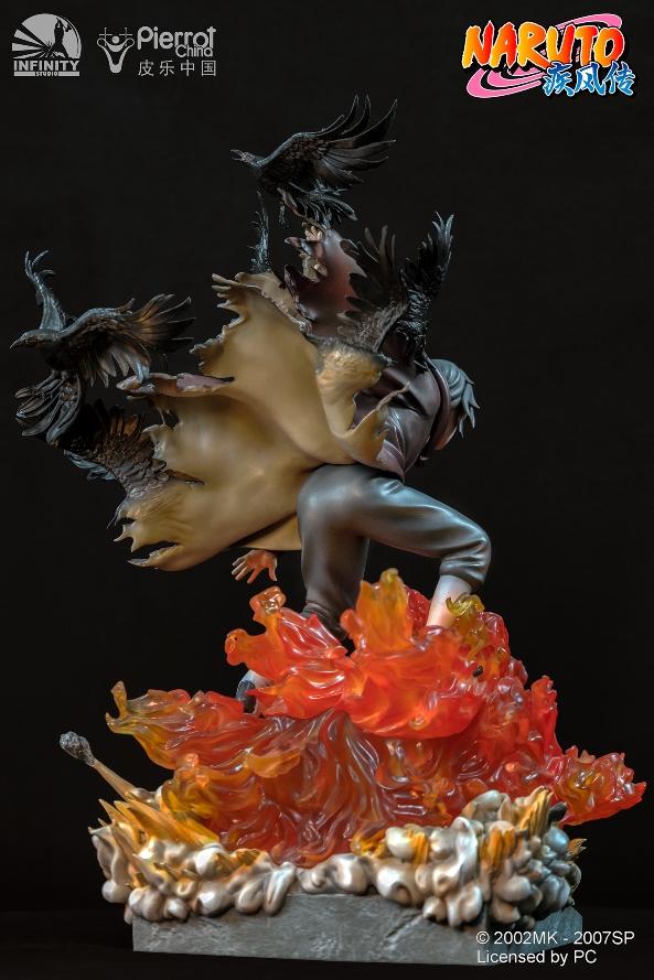 Statue Naruto Shippuden Uchiwa Itachi 45cm 1001 Figurines 8