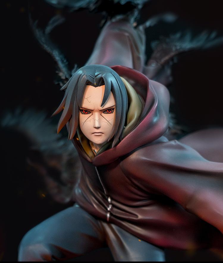 Statue Naruto Shippuden Uchiwa Itachi 45cm 1001 Figurines 14