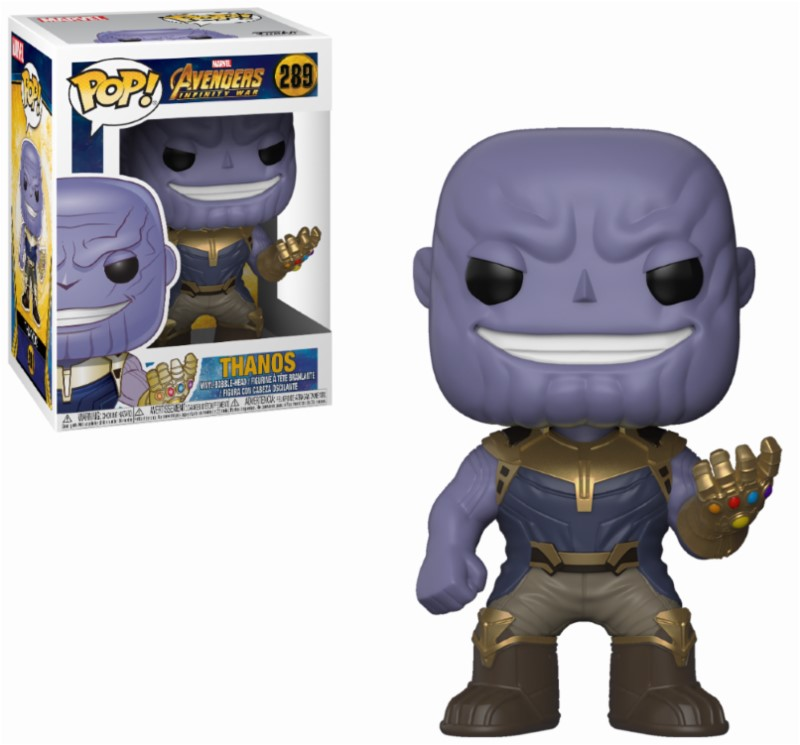 Figurine Avengers Infinity War Funko POP! Thanos 9cm 1001 Figurines