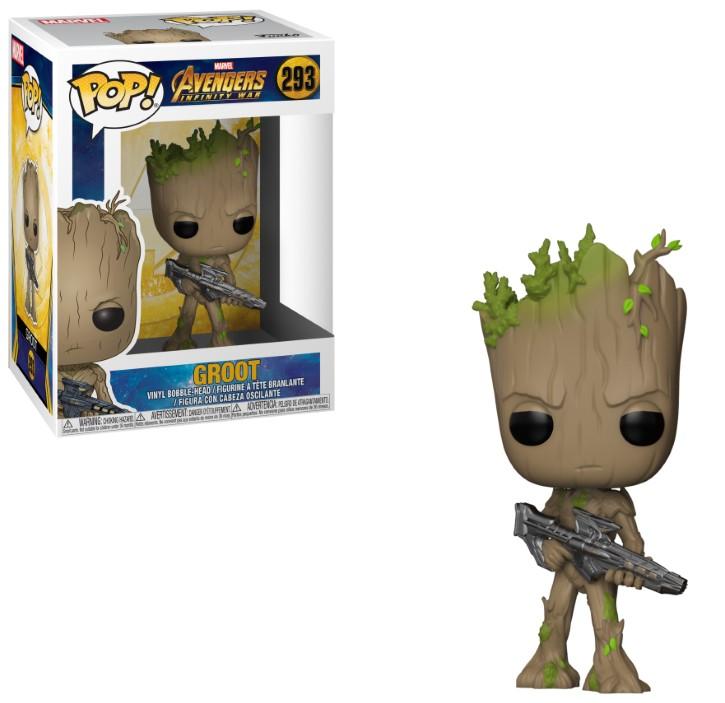 Figurine Avengers Infinity War Funko POP! Groot 9cm