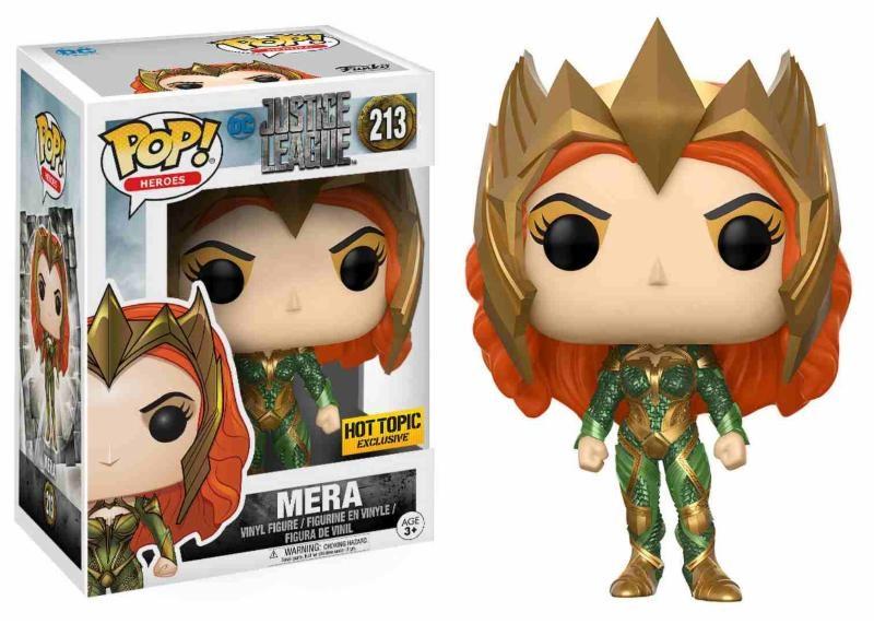 Figurine Justice League Funko POP! Mera Exclusive 09cm 1001 Figurines
