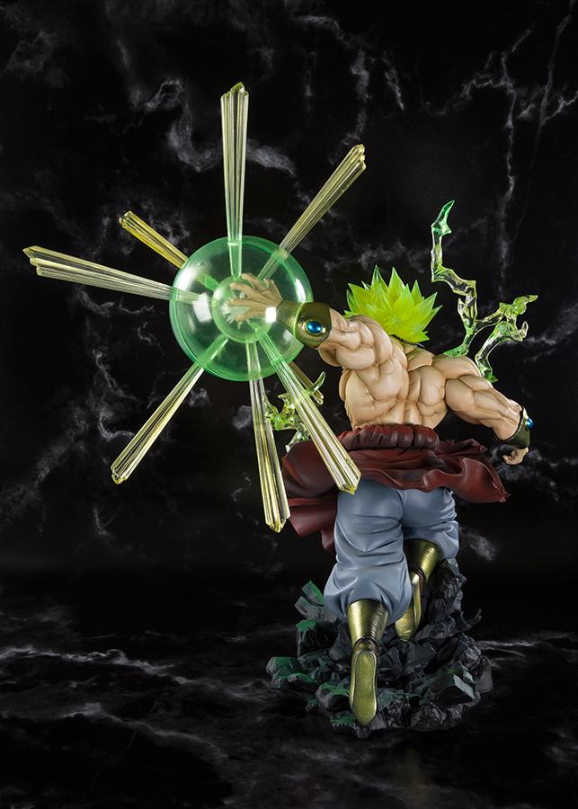 Figurine Dragon Ball Z Broly Super Saiyan S.H. Figuarts Zero Burning Battle 32cm 1001 Figurines 5