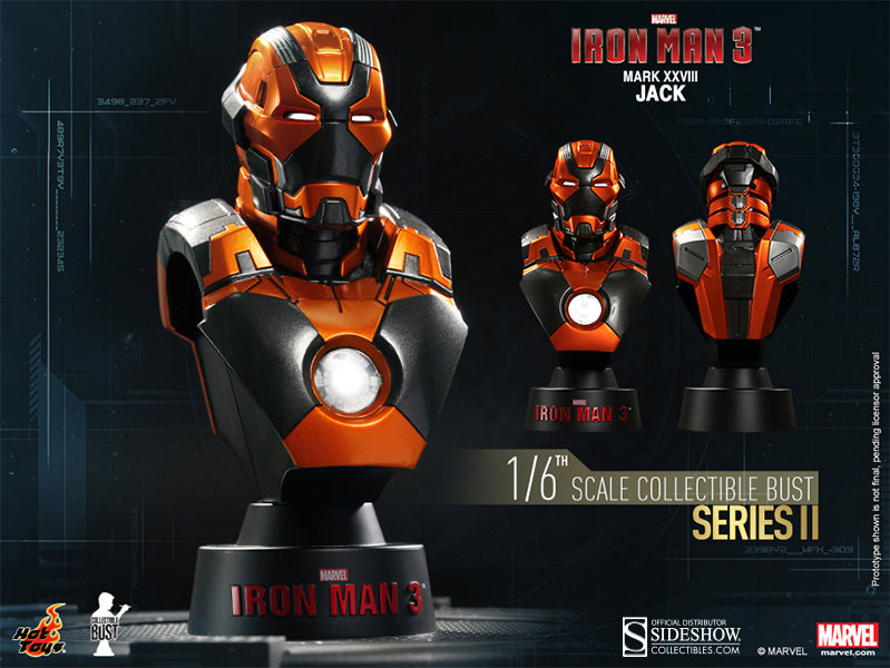 Hot Toys Buste 1/6 Iron Man Mark 42  Iron Man 3