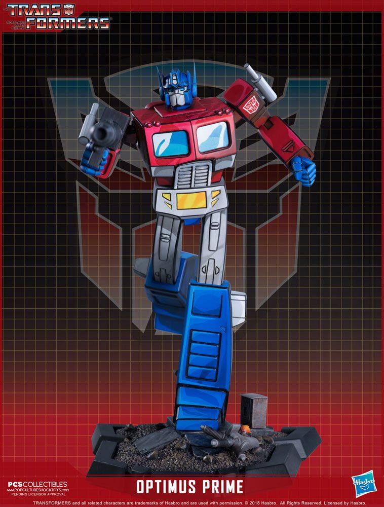 Statuette Transformers Classic Scale Optimus Prime 27cm 1001 Figurines