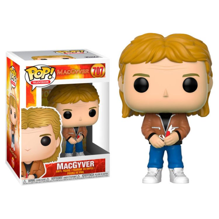 Figurine MacGyver Funko POP! MacGyver 9cm 1001 Figurines