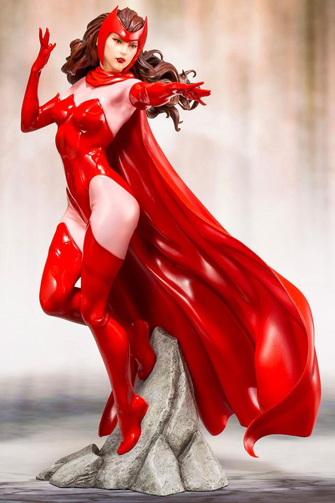 Statuette Marvel ARTFX+ Scarlet Witch 21cm 1001 Figurines
