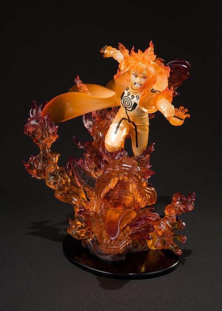 Statuette Naruto Shippuden Figuarts ZERO Minato Namikaze Kurama Kizuna Relation 22cm 1001 Figurines