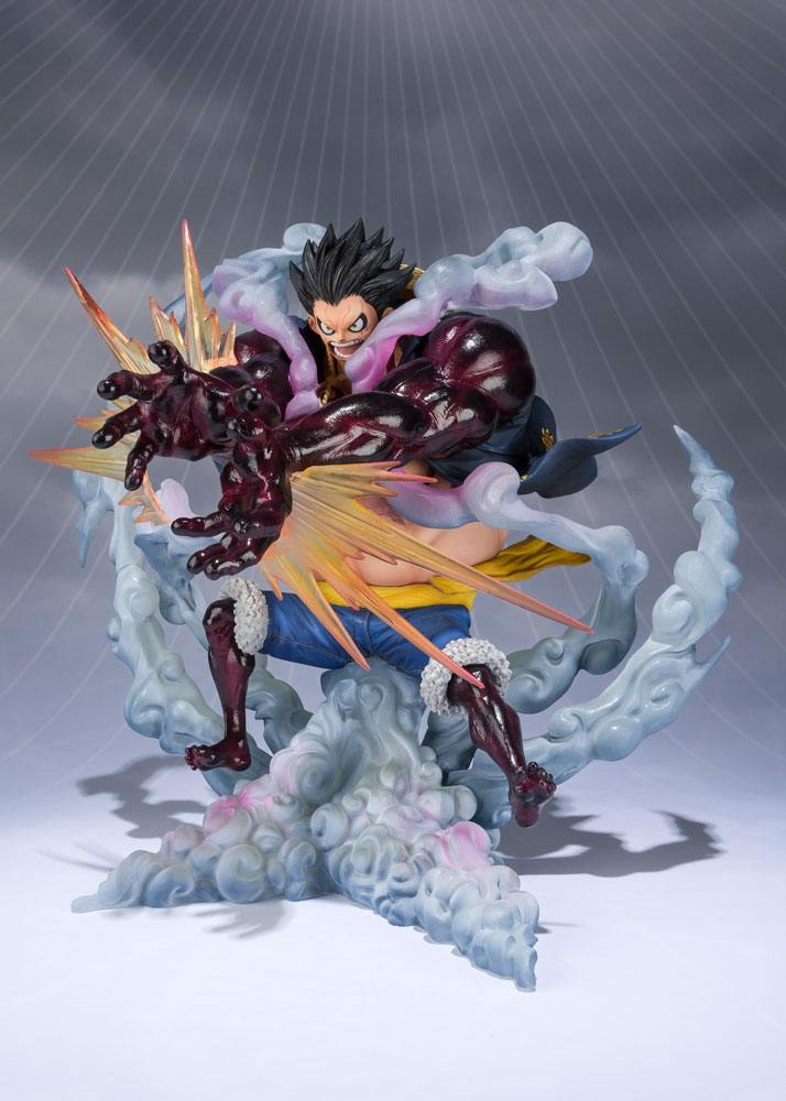 Statuette One Piece Figuarts ZERO Monkey D. Luffy Gear 4 Leo Bazooka 18cm 1001 Figurines