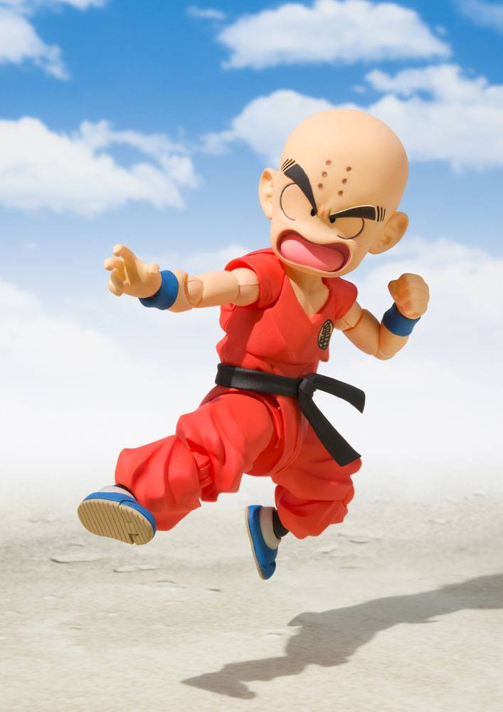 Figurine Dragon Ball S.H. Figuarts Krillin The Early Years 10cm 1001 Figurines